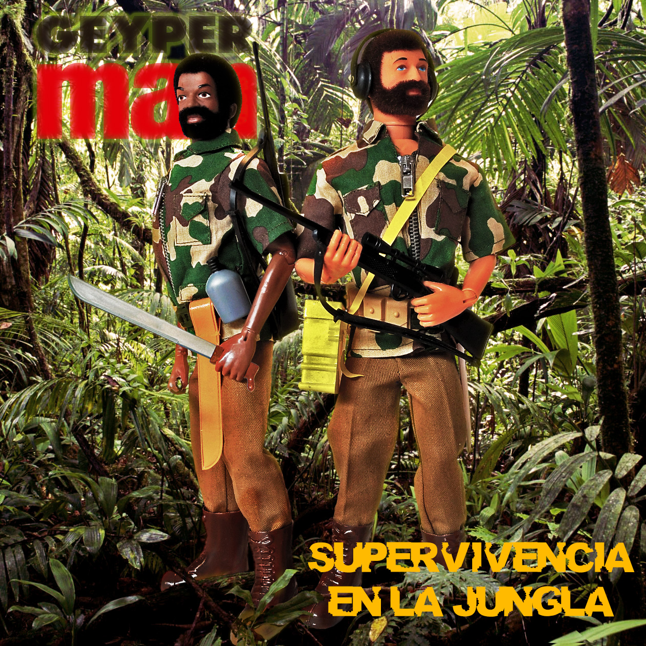 Geyperman Jungle Survival 7076